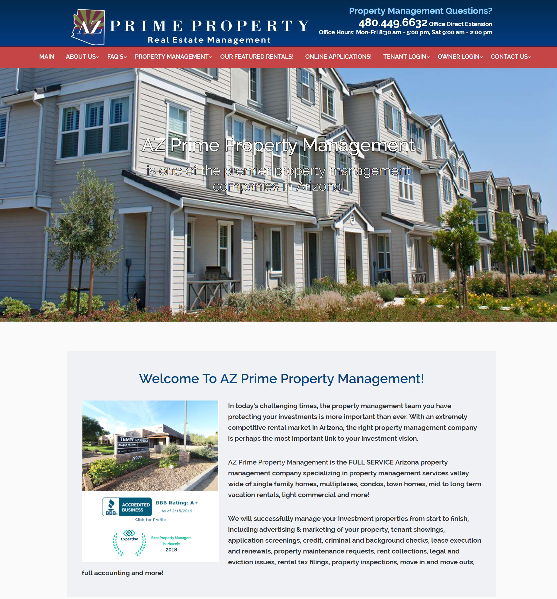 HERO PM: Websites for Residential Property Management